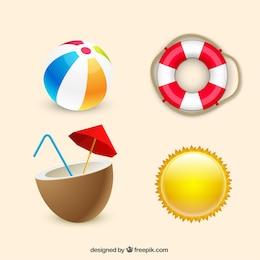Elementos esenciales de verano