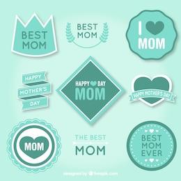 Elementos gráficos para el día de la madre