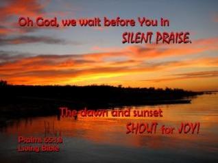 elogios en silencio