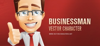 Empresario carácter vectorial