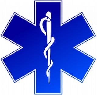 EMS (servicio médico de emergencia) logotipo