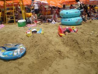 en la playa, playa inteligente,