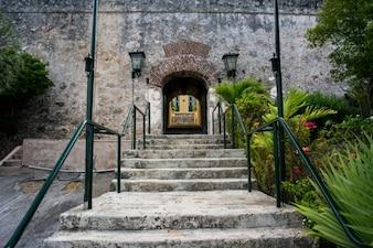 Fin de las escaleras