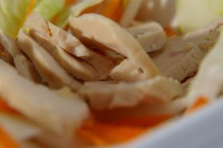 ensalada de pollo, ensalada