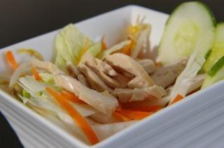 ensalada de pollo, la salud