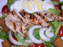 ensaladas coloridas, foodart