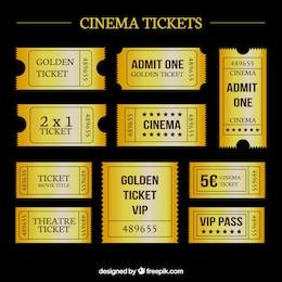 Entradas de cine de oro