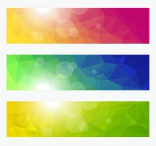 Eps del vector - colección de banderas abstractas