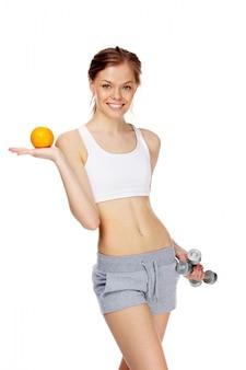 Equipo de la belleza bienestar ejercicio deportivo