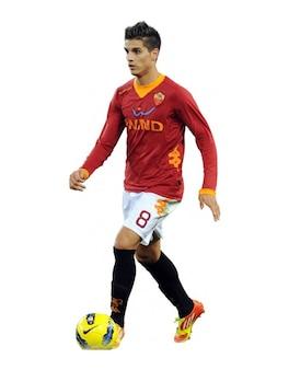 Erik Lamela AS Roma Serie A
