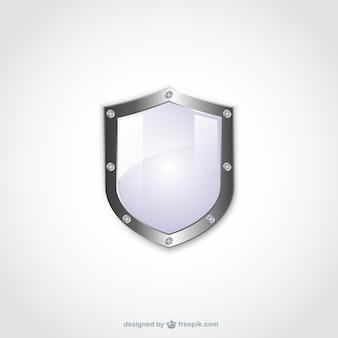 Escudo en blanco