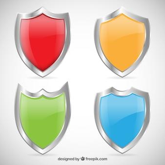 Escudos de colores