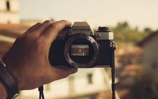 Espejo de la cámara