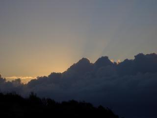 espesas nubes, de espesor