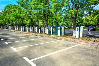 Estacionamiento de vehículos eléctricos