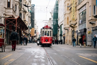 Estambul tranvía