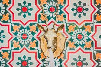 Estilo marroquí de la fuente