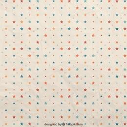 Estrellas coloridas patrón