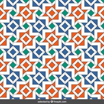 Estrellas geométricas mosaico