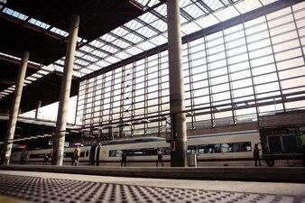 Estructura de la estación de tren