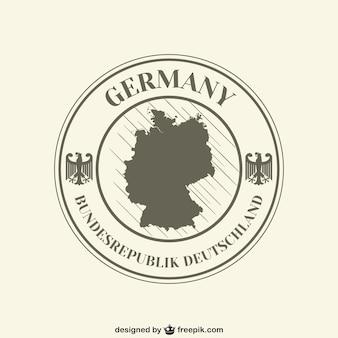 Etiqueta de República Federal de Alemania