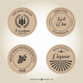 Etiquetas de vinos y licores