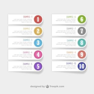 Etiquetas numeradas gratis
