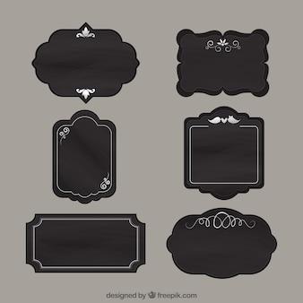 Etiquetas Oscuros