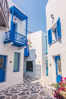 Europa blanco hermoso griego egeo