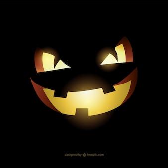Calabaza malvada para Halloween