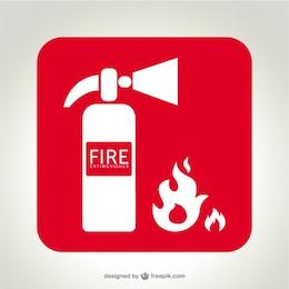 extintor vector logo