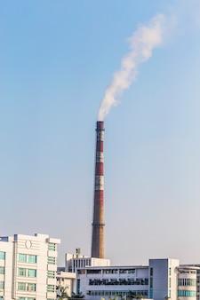 Fábrica de procesamiento de gas