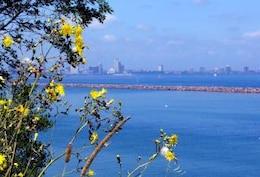 faroles Milwaukee, lago, lakemichigan, el agua