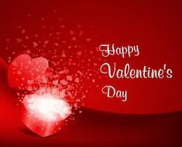 feliz día de San Valentín y, días vector s de tarjetas de felicitación