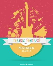 Festival de música coloful