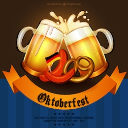 Fiesta tradicional alemana Oktoberfest