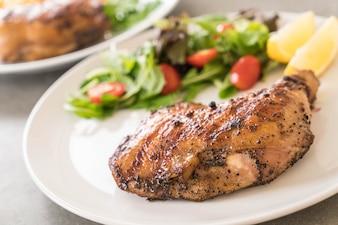 Filete de pollo muslo