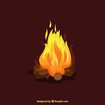 Ilustración Fuego