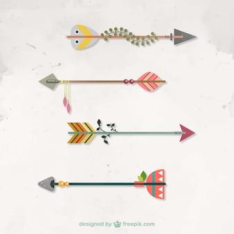 Flechas nativas
