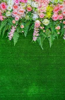 Flor hermosa de la boda