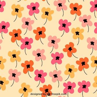 Patrón diseño floral