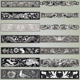 Floral vector antigüedades ornamentales