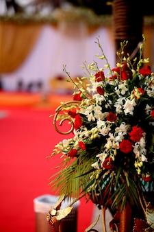 Flores de fondo de la boda 1