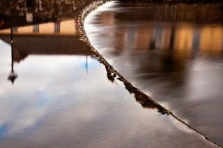 fluye ciudad extraer agua