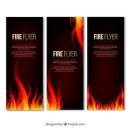Folleto fuego
