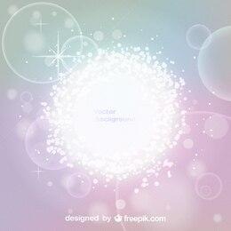 Fondo abstracto con resplandor luminoso en vector