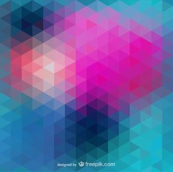 Fondo abstracto con triángulos