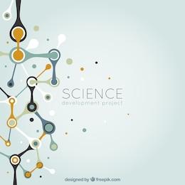 Fondo abstracto de ciencia