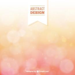 Fondo abstracto en estilo bokeh