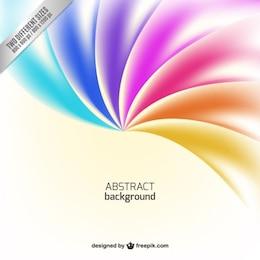 Fondo abstracto en tonos de arcoiris